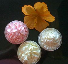Whipped Rich and Decadent Body Butter Creams with Pumpkin Seed and Kukui Nut Oils