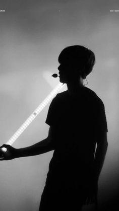 Baekhyun, Exo Kai, Park Chanyeol, Exo Ot12, Chanbaek, Concert Lights, Exo Songs, Puppy Face, Photos Tumblr