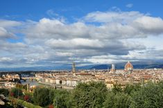 View of Florence from the Piazzale Michelangelo in the Oltrarno