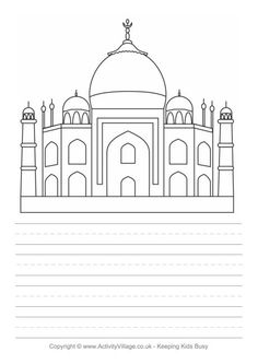 cc cycle 1 week 3 fine arts upside down drawing taj mahal story