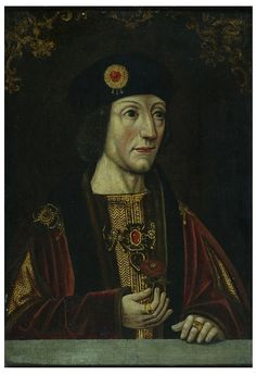 Henry the VII (1447-1509), was the son of Edmund Tudor (1431-1456), Earl of Richmond and head of the house of Lancaster, and Margaret Beaufort (1443-1509). After defeating Richard III at the Battle of Bosworth Field in 1485, Henry successfully claimed the English throne. In 1486 married Elizabeth, Princess of York (1465-1503), daughter of Edward IV (1442-1483). This marriage unified the previously opposed houses of Lancaster and York. His reign began the Tudor Dynasty, which ran from…