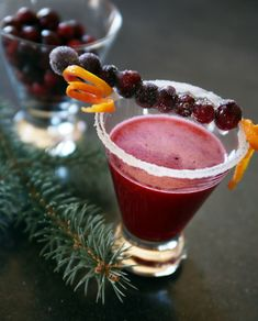 Festive New Year's Cocktail: Cranberry Margarita