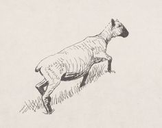 Henry Moore OM, CH 'Sheep Climbing', 1974 © The Henry Moore Foundation, All…