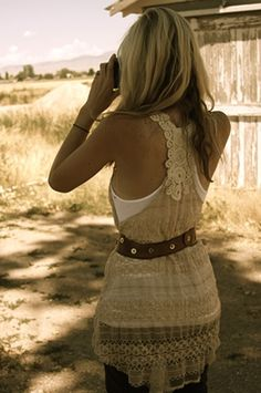 Cute Top and Belt :)