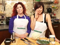 Krysta Rodriguez & Kirsten Wyatt cook up cancer-friendly 'Fauxtatoes' on Broadway Nosh!