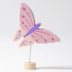 Grimm, Pinterest Instagram, Birthday Table, Nature Table, Pink Butterfly, Birthday Decorations, Birthday Celebration, Whimsical, Centerpieces