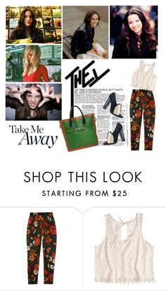 """""""who's gonna bring me back to life?"""" by anaah ❤ liked on Polyvore featuring Talulah, Jil Sander, Proenza Schouler and Yves Saint Laurent"""