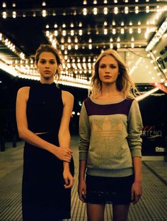 urban outfitters holiday20 Anais Pouliot + Camilla Christensen Front Urban Outfitters Holiday 2013