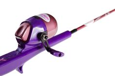 Fishing poles fishing and fishing rods on pinterest for Purple fishing rod