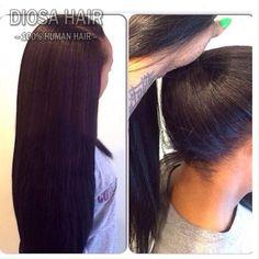 About 4x4 silky straight silk top wig virgin peruvian human hair
