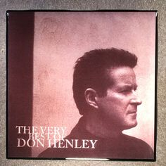 DON HENLEY The Very Best Of Coaster Record Cover Ceramic Tile