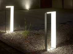 ALUMINIUM BOLLARD LIGHT / ACCESS BOLLARD BASE #2 POLLER IVYLIGHT BASE COLLECTION BY IP44.DE | DESIGN SEBASTIAN DAVID BÜSCHER