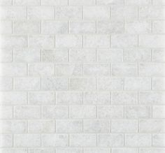 Calacatta Tumbled Mosaic floor to 1200mm surround. Find dado to match. Paint above and hang pictures. 25x50 Chip £85 m/2