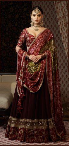 101 best lehenga saree photos by Indian Wedding Fashion, Indian Bridal Outfits, Indian Bridal Wear, Indian Designer Outfits, Indian Dresses, Indian Fashion, Indian Attire, Indian Ethnic Wear, Indian Style