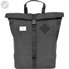 Sandqvist Eddy Rolltop Backpack - Dark Grey - Little daily helpers (*Amazon Partner-Link)