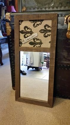 Upcycling mirror