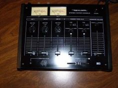 Realistic Stereo Mixing Console 32 1200A Radio Shack DJ Music Mixer RS