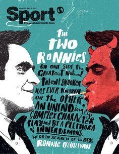 Sport Magazine - Peter Strain Illustration, art, poster, cover,
