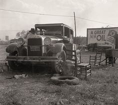 The History Place - Dorothea Lange Photo Gallery: On the Road: Wagoner County, Oklahoma