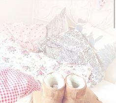 so floral cozy feminine