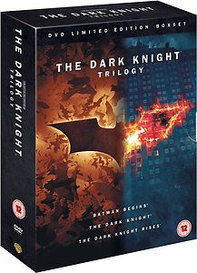 Batman: The Dark Knight Trilogy - Complete Box Set Collection New DVD - £23.99