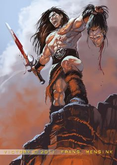 Conan the Victor Fantasy World, Dark Fantasy, Cyberpunk, Conan O Barbaro, Conan Der Barbar, Conan The Destroyer, Conan Comics, Savage Worlds, Conan The Barbarian