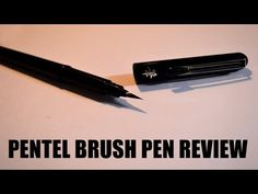 Pentel Pigment Ink Brush Pens