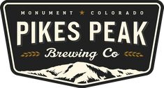 From The Gazette : This was a Tuesday night at a brewery, Monument's Pikes Peak Brewing Co., where for nearly a year large crow. Pikes Peak, Colorado Springs, Badge Design, Logo Design, Graphic Design, Graphic Art, Badges, Indiana, Logo Color Schemes