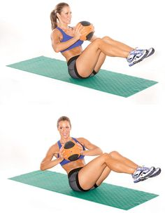 Hit your abs from every angle with these core-strengthening moves.