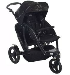 Double Stroller For Kids Twins Push Buggy Bench Tandem Pushchair With Raincover
