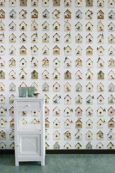 birdhouse wallpaper