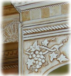 The Decorated House: ~ How-To, Painting Furniture & Cabinets, Antique White Glazed Finish