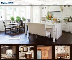 Check out the new site… Wellborn Cabinets, White Cabinets, Traditional Design, Beach House, White Kitchens, Table, Kitchen Islands, Pantry, Furniture