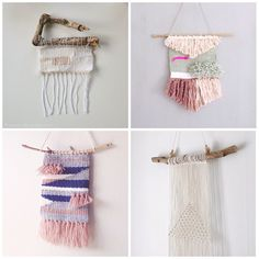 [ #kreasiw_weaving ]  Kreative nydelige bidrag i ukens kreative utfordring #kreasiw_weaving. Link i bilder.  Hvilken utfordring vil DU ha i morgen da?  More lovely weaving from this weeks creative challange #kreasiw_weaving. _______________________________________________