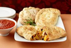Recreate a take-out favorite with our basic #calzone recipe and six yummy filling ideas.