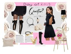 """""""...day of bows"""" by kapua-blume ❤ liked on Polyvore featuring ASOS, Lotus, MANGO, Christian Louboutin, Vivienne Westwood, Johnny Loves Rosie, PBteen, Kate Spade, Juicy Couture and bows"""