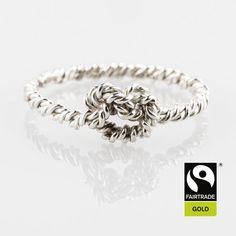 mBound Collection - Bespoke Jewellery by Rachel Helen Rope Jewelry, Bespoke Jewellery, Knots, Jewelry Design, Bracelets, Rings, Board, Silver, Handmade