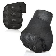 Ventilate Wear-resistant Tactical Gloves Hard Knuckle and Foam Protection for Shooting Airsoft Hunting Cycling Motorcycle Gloves Men& Outdoor Half finger Full finger Gloves Black M/L/XL Tactical Wear, Tactical Gloves, Tactical Clothing, Tactical Survival, Survival Gear, Airsoft, Tactical Equipment, Military Equipment, Tac Gear