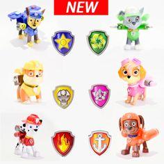 Patroli anjing Anime Mainan Action Figure MovieJuguetes Brinquedos Lucu Anjing patroli Mainan set Untuk Anak anak Hadiah Untuk Anak Perempuan Anak-anak