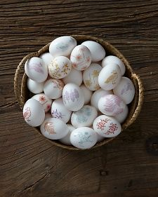 Decal Eggs | Step-by-Step | DIY Craft How To's and Instructions| Martha Stewart