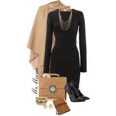 """Contest ~ Congress ~ black and tan"" by msmeena on Polyvore"