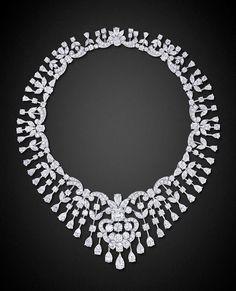 Google+ Diamond Choker Necklace by Graff