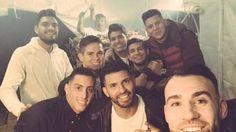 Jugadores argentinos festejaron la Navidad en Inglaterra - http://www.notiexpresscolor.com/2016/12/26/jugadores-argentinos-festejaron-la-navidad-en-inglaterra/