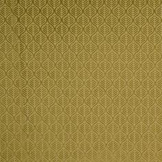 Chartreuse Geometric Imprint Velvet Fabric by the Yard | Mood Fabrics