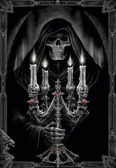 Zippo Anne Stokes Woman and Reaper Black Matte Pocket Lighter Anne Stokes, Grim Reaper Art, Don't Fear The Reaper, Dark Gothic, Gothic Art, Gothic Images, Gothic Horror, Horror Art, Dark Fantasy