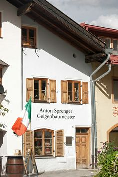 Violin Maker's Shop, Mittenwald, Germany