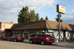 Coeur d'Alene's Jimmy's Down the Street...Great food if you are in Coeur d'Alene Idaho you must try there food.  They are open for Breakfast and Lunch