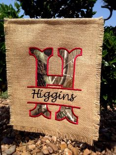Personalized Custom Garden Flag in Real Tree Camo on Etsy, $20.00