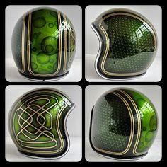 Chemical Candy Customs: REFURBISHED HELMETS...