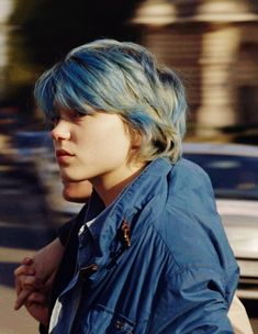 Lea Seydoux en La vida de Adele - Hair World Lea Sydoux, Lea Seydoux Adele, Lgbt, Blue Is The Warmest Colour, French Actress, Grunge Hair, Green Hair, Lilac Hair, Pastel Hair